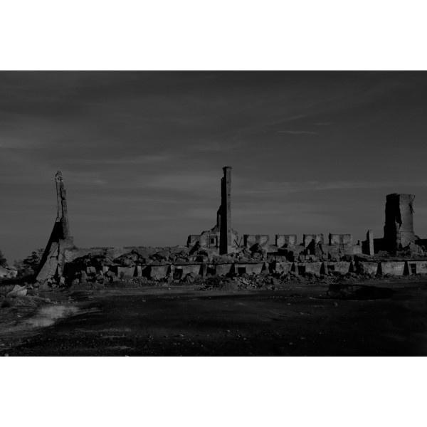 """05 Peñarroya, Pueblonuevo. Córdoba"" Minas. Paisajes explorados. Año 2009. Tamaño: 46,84 x 70 cm. Técnica: Copia Cromogénica. Laminado mate. Montada sobre Dibond 3 mm. Bastidor trasero de madera. http://moolacool.com/es/226-paco-valverde-minas-paisajes-explorados-05-fotograf%C3%ADa.html"