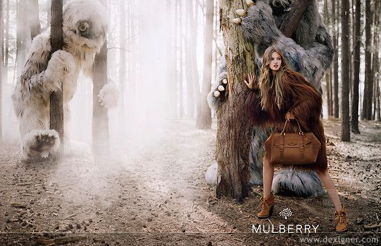A Forest Fairytale: Mulberry AW/12 campaign