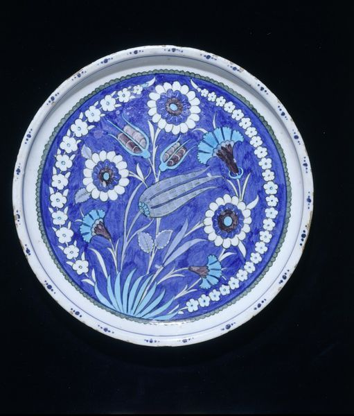 Dish      Place of origin:      Iznik, Turkey (probably, made)     Date:      1545-1555 (made)     Artist/Maker:      Unknown (pro...