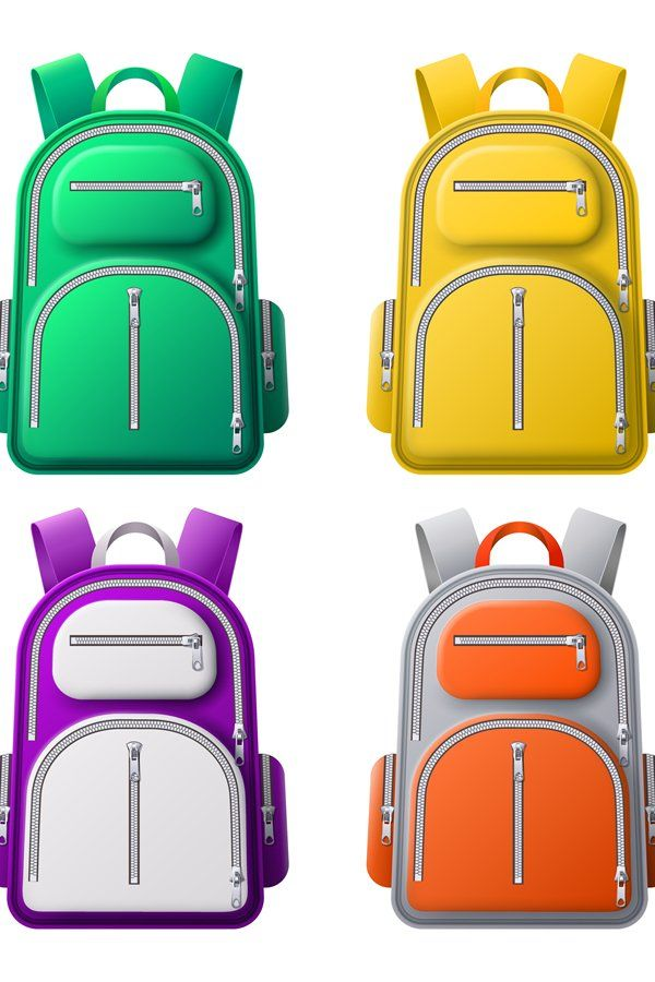 Download Color Sport Backpack Mockup Different Colored Backpacks Ba 1028250 Objects Design Bundles Backpack Sport Backpacks Design Bundles