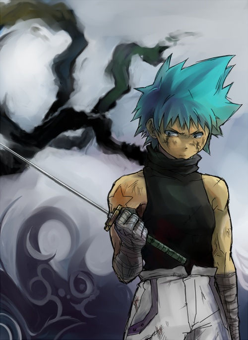 Black Star really grew on me throughout the whole anime. Especially the way he and Tsubaki always had each others' back