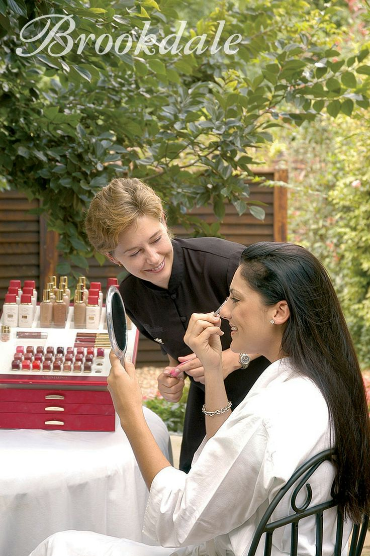Clarins Make Up workshop at Brookdale Health Hydro