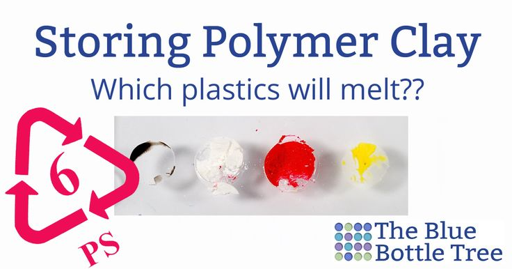 There are lots of ominous warnings. But does polymer clay melt plastic? If so, which ones? Which plastics are safe to use with polymer? Learn more here!