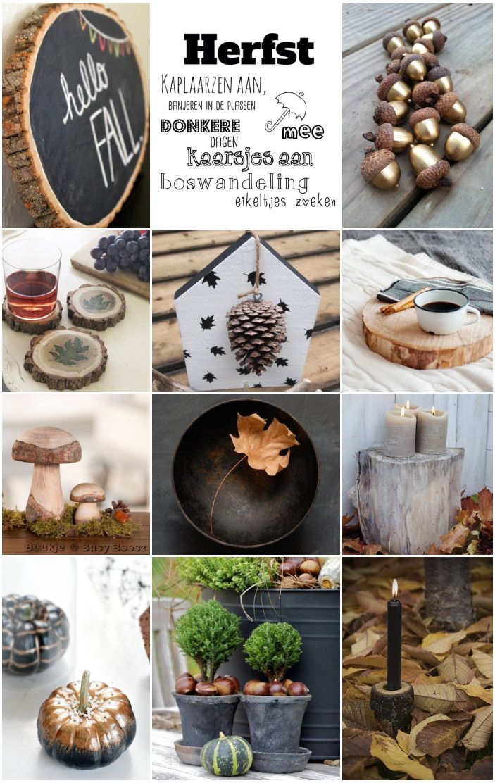 Moodboard Herfst - Autumn - Fall #Pintratuin
