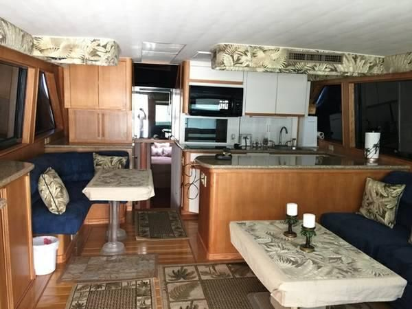 Used 1990 Hatteras Convertible 58