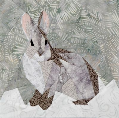 silver linings quilting pattern wild bunny
