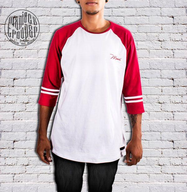 Camiseta Mr Red Maniacs Blanca. Ropa urbana
