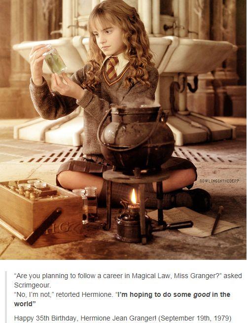 happy birthday hermione by - photo #32
