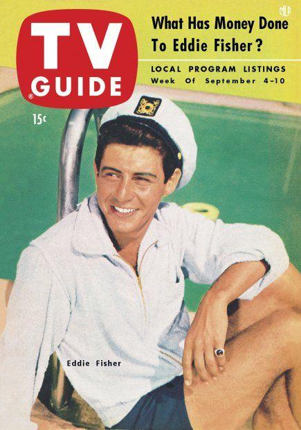 TV Guide, September 4, 1954 - Eddie Fisher