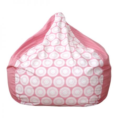 Pink Freckles N Stripes Bean Bag