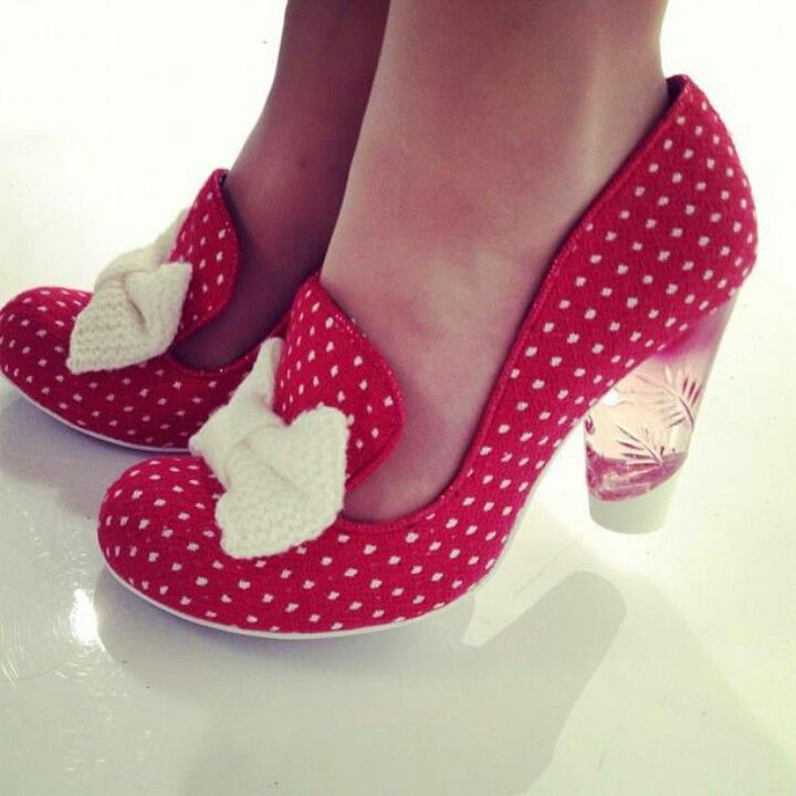 Irregular choice-- perfect for a Minnie Mouse costume