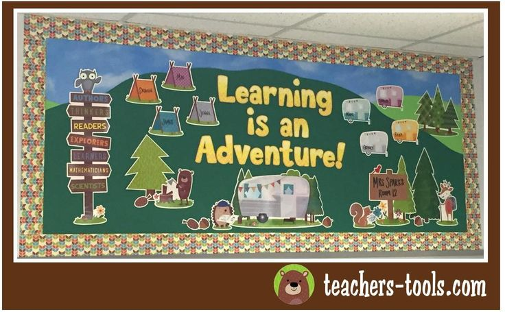 *Woodland Friends Bulletin Boards - Woodland Adventures - Theme - Shop By Color…