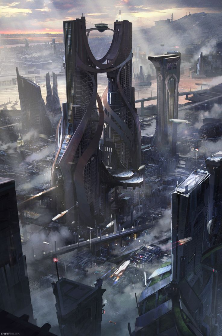 Kraken Tower by Min Nguen | Architecture | 2D | CGSociety
