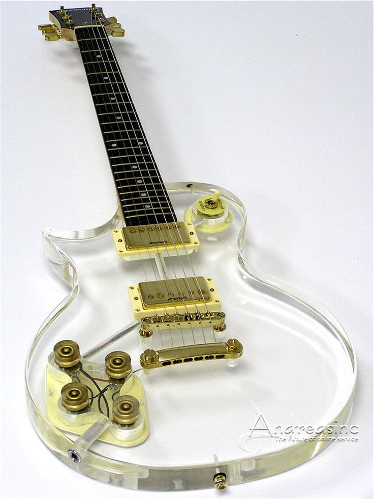 unique+electric+guitars | ... Left Handed Lefty Clear Gold White Electric Guitar Rock