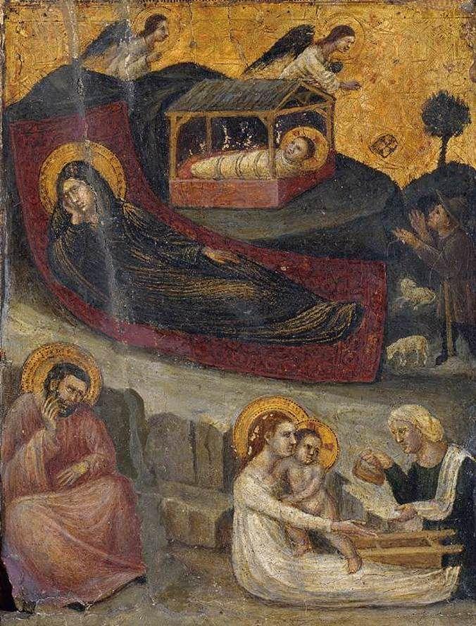 Pietro Da Rimini - The Nativity.
