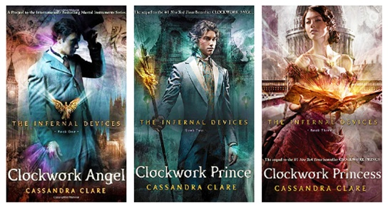 The Infernal Devices series Clockwork Angel Clockwork ...