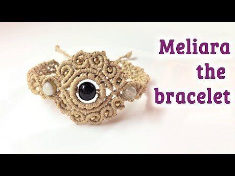 Macrame pendant tutorial: The Meliara jewelry set - Hướng dẫn thắt mặt dây chuyền thủ công - YouTube #braceletstutorials