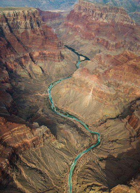 Grand Canyon ~ Colorado River and Little Colorado River