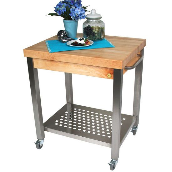 walmart butcher block kitchen cart plans amazon boos