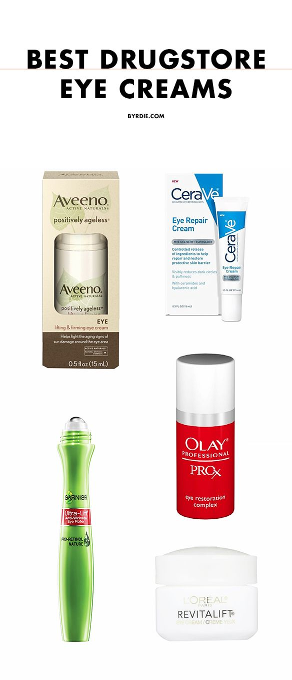 The best drugstore eye creams, according to the Internet