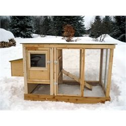 Small Chicken Coop Plans (up to 4 chickens) from My Pet Chicken