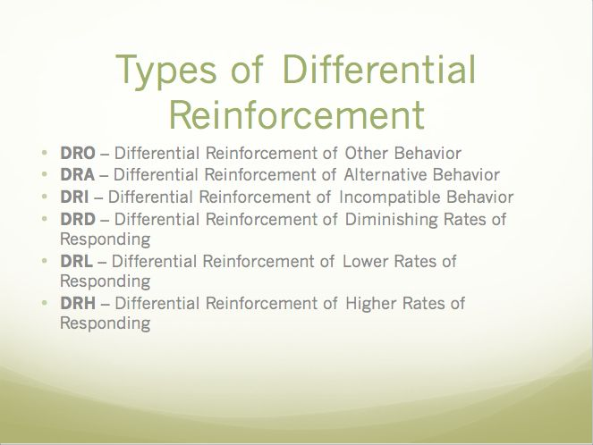 Coffee Beans Online >> 6 types of differential reinforcement | Aba training ...