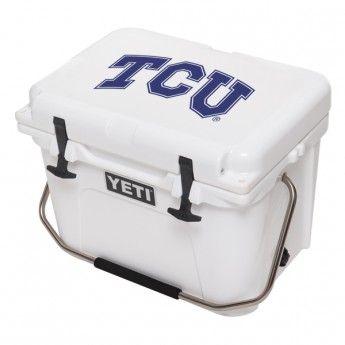 Official TCU Yeti Cooler