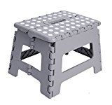 """Unity 9"""" Non Slip Foldable Step Stool Great For Kids And Adults With Handle Supports Up To 330Lbs (Grey/White... Unity-Frankford brings you our Premium Foldable Step Stool!  Treat yourself to a high https://thehomeofficesupplies.com/unity-9-non-slip-foldable-step-stool-great-for-kids-and-adults-with-handle-supports-up-to-330lbs-greywhite-dots/"""