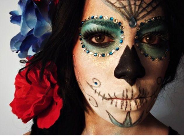 Tutorial Caveira Mexicana Makeup Caveiras