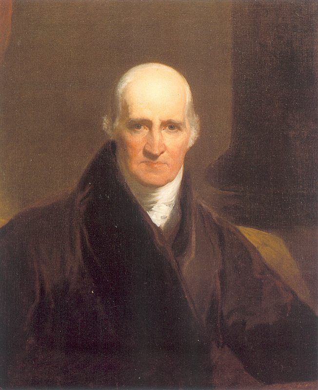 Benjamin West  famous painter from England of Quaker religion.  October 10, 1738