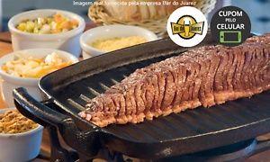 Groupon - Bar do Juarez – 4 endereços: picanha no réchaud e Chopp Brahma para 2 pessoas em Vários Locais. Preço da oferta Groupon: R$79,90