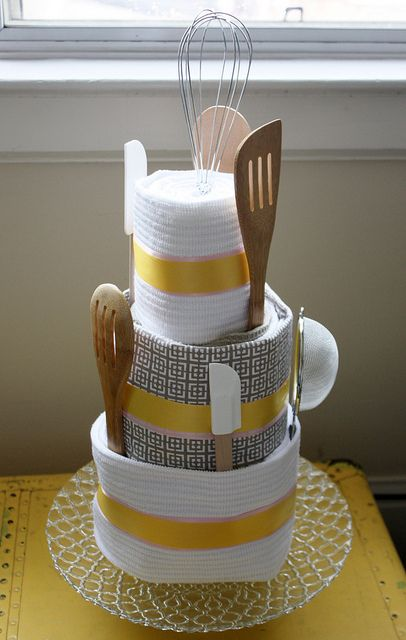 For a house warming gift  towel cake bridal shower gift or anything  Find  this Pin and more on Kitchen Tea Ideas  38 best Kitchen Tea Ideas images on Pinterest   Tea ideas  Wedding  . Gift Ideas For A Kitchen Tea Party. Home Design Ideas
