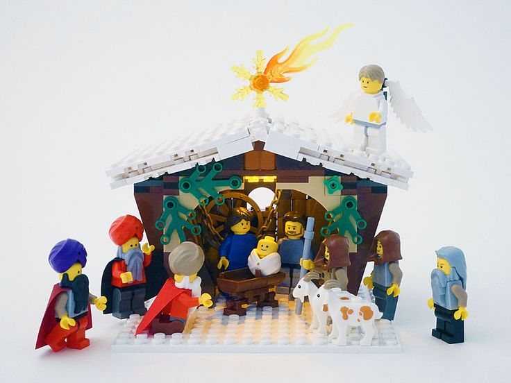 lego christmas village 2014 | Winter Village: Christmas Nativity Play in Bethlehem (competition entr