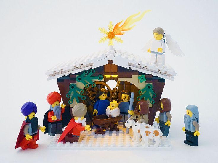 lego christmas village 2014 | Winter Village: Christmas Nativity Play in Bethlehem (competition entr