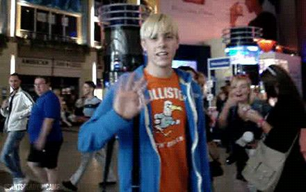 Hey everyone! I'm Riker Lynch! I sing and slappada bass in R5! :D Or you may know me as Jeff the...