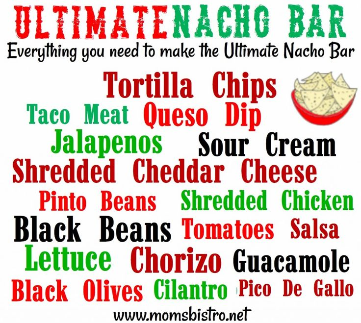 Can't decide what to make for dinner?  Try a DIY Nacho Bar - Set out the ingredients and let everyone make their own Loaded Nachos!  #recipe #diy