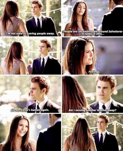 "#TVD 6x21 ""I'll Wed You in the Golden Summertime"" - Elena and Stefan"