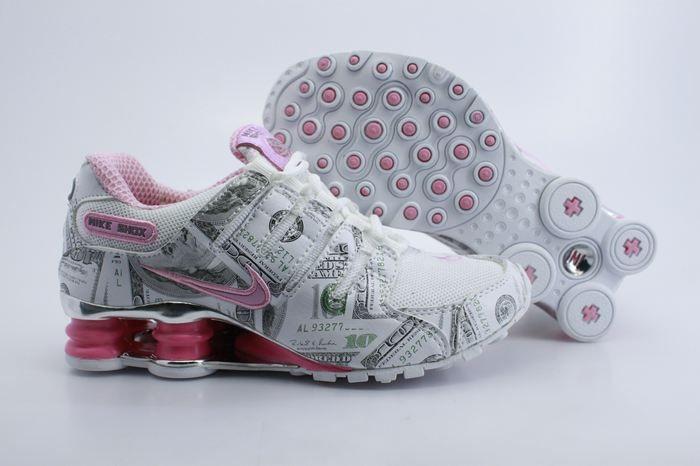 pretty nice cc38e 12539 Nike Shox with Money Design .