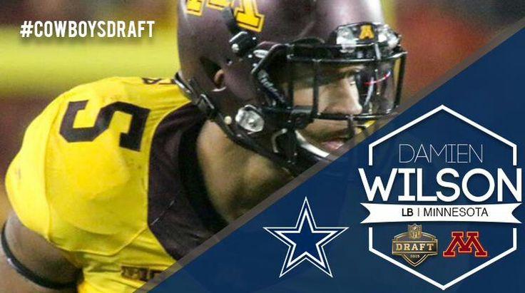2015 Dallas Cowboys 4th Round Draft pick, Damidn Wilson.
