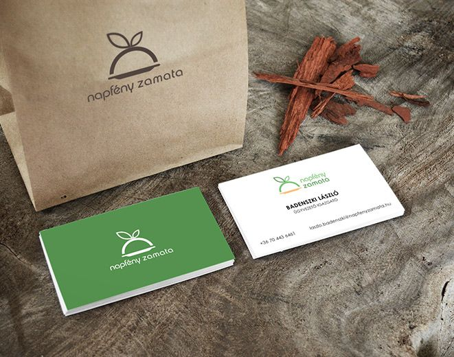 bag and business cards