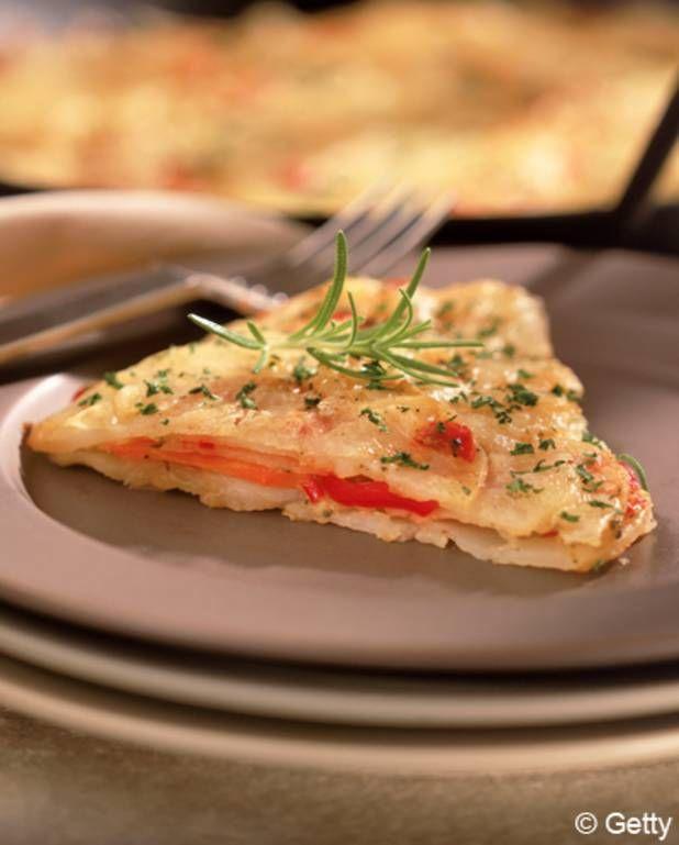 Pains pita à l'omelette, poivron et chorizo croustillant pour 4 personnes - Recettes Elle à Table