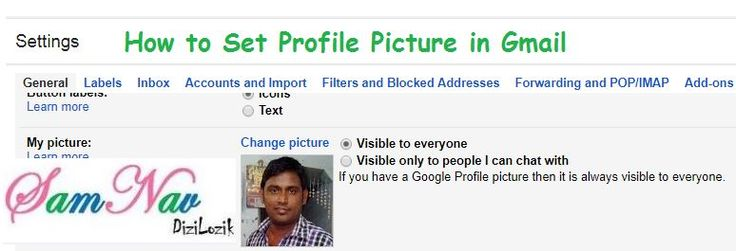 How to Set Profile Picture in Gmail. This guide shows you that how to set profile picture in Gmail. Now click on COG icon > Settings.