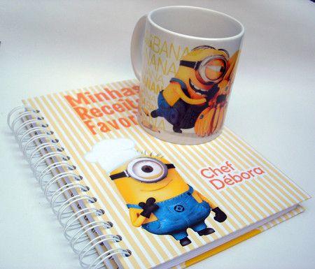 Kit Caderno + Caneca Personalizada - Ladybug Personalizados