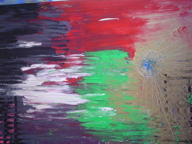 Ali spezzate,70x100,2012