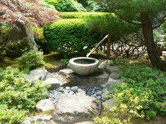 Panoramio photo of stone basin fountain portland for Garden fountains portland oregon