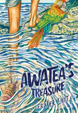 """Awatea's treasure"", by Fraser Smith - Awatea is staying in the country with his grandparents and uncles next door to Mrs Carol's house, said to be haunted. Awatea's uncles challenge him to spend a night there, but can he do it? 2017 Finalist Best First Book Award."