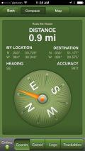 Geocaching App compass