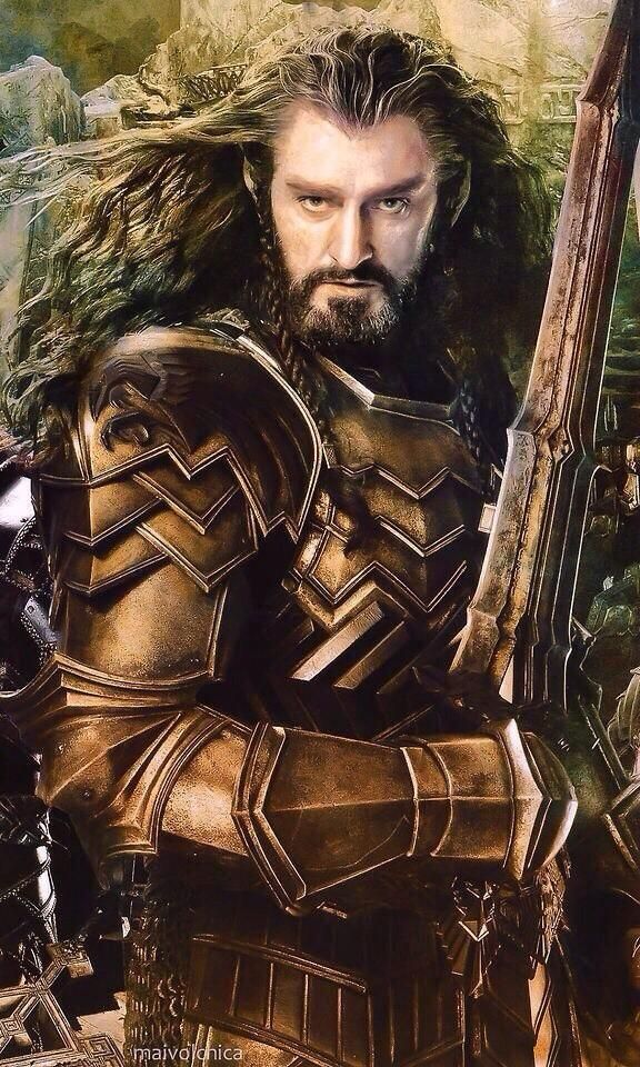 Maybe he's born with it. #HobbitPosterCaptions <<< You bet your crumpets he's born with it, it's RICHARD ARMITAGE