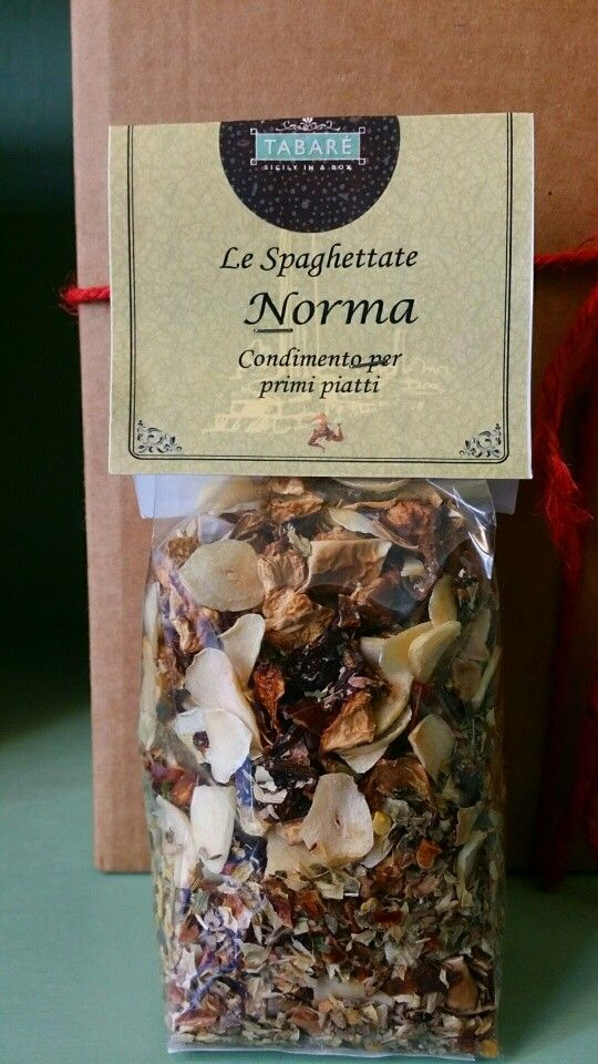 Norma spices. Perfect for cooking typical pasta of Sicilian cuisine. #sicily #norma #pasta #spaghetti #sicilianfood #food #gourmet