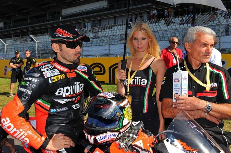 Aprilia Racing Superbike: Nürburgring, Germany